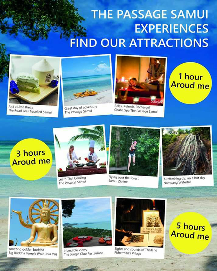 If you had 1, 3 or 5 hours to explore Koh Samui, what would you do?